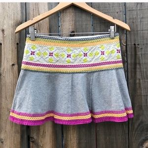 💋Free People Ric Rac Mini Skirt